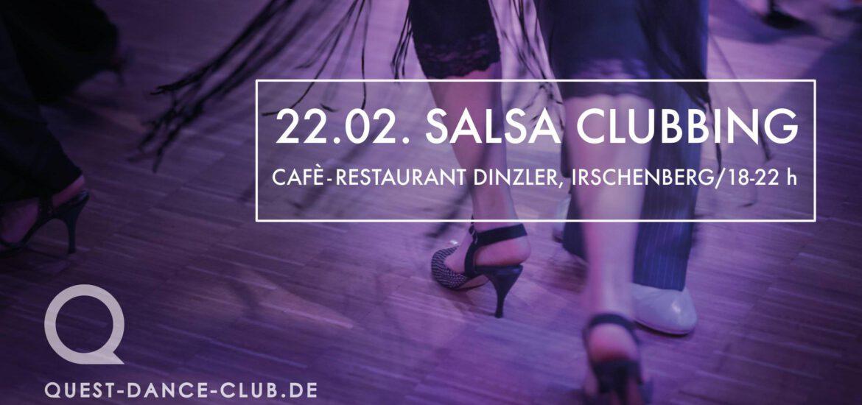 SalsaClubbing des Quest Dance Club Kolbermoor - Location: Café Dinzler, Irschenberg