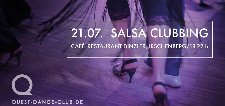 SalsaClubbing Quest Dance Club, Kolbermoor/Rosenheim - Location: Café Dinzler am Irschenberg