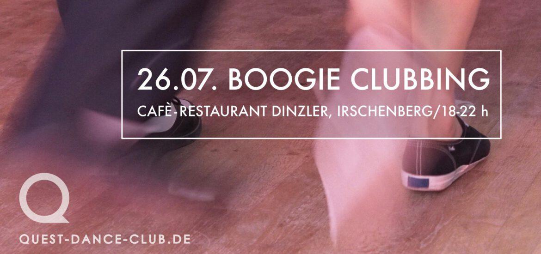 Boogie Clubbing im Café-Restaurant Dinzler, Irschenberg